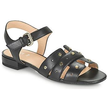 Παπούτσια Γυναίκα Σανδάλια / Πέδιλα Geox D WISTREY SANDALO C Black