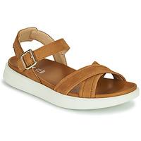 Παπούτσια Γυναίκα Σανδάλια / Πέδιλα Geox D XAND 2S B Cognac