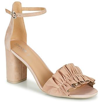 Παπούτσια Γυναίκα Σανδάλια / Πέδιλα Geox D ERAKLIA HIGH E Beige