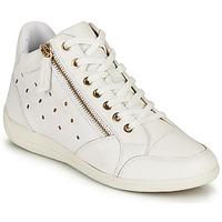 Παπούτσια Γυναίκα Ψηλά Sneakers Geox D MYRIA G Άσπρο
