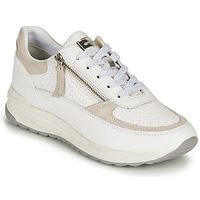 Παπούτσια Γυναίκα Χαμηλά Sneakers Geox D AIRELL A Άσπρο / Beige