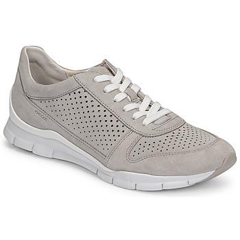 Παπούτσια Γυναίκα Χαμηλά Sneakers Geox D SUKIE B Grey
