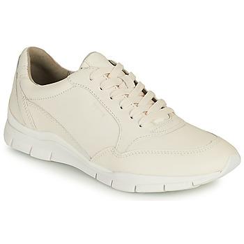 Παπούτσια Γυναίκα Χαμηλά Sneakers Geox D SUKIE A Άσπρο