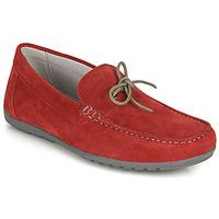 Παπούτσια Άνδρας Μοκασσίνια Geox U TIVOLI A Red