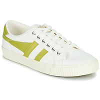 Παπούτσια Γυναίκα Χαμηλά Sneakers Gola TENNIS MARK COX Άσπρο / Yellow