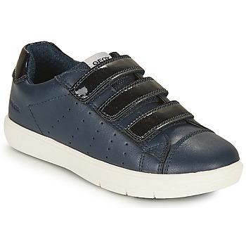 Παπούτσια Κορίτσι Χαμηλά Sneakers Geox SILENEX GIRL Marine
