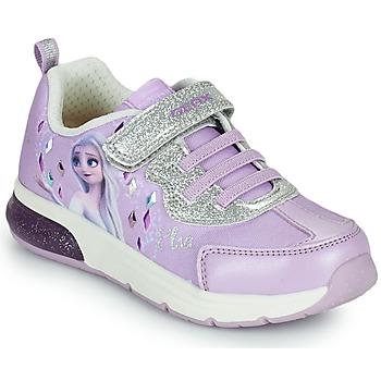 Παπούτσια Κορίτσι Χαμηλά Sneakers Geox SPACECLUB GIRL Violet