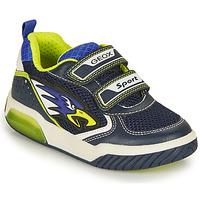 Παπούτσια Αγόρι Χαμηλά Sneakers Geox INEK BOY Marine / Yellow