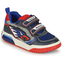 Παπούτσια Αγόρι Χαμηλά Sneakers Geox INEK BOY Μπλέ / Red