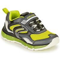 Παπούτσια Αγόρι Χαμηλά Sneakers Geox ANDROID BOY Grey / Lime