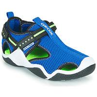 Παπούτσια Αγόρι Σπορ σανδάλια Geox JR WADER Μπλέ / Green