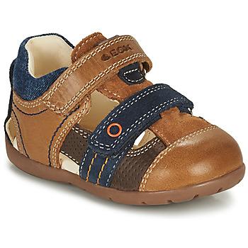 Παπούτσια Αγόρι Σανδάλια / Πέδιλα Geox KAYTAN Brown / Marine