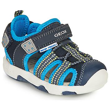 Παπούτσια Αγόρι Σπορ σανδάλια Geox SANDAL MULTY BOY Μπλέ