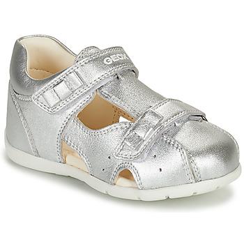 Παπούτσια Κορίτσι Σανδάλια / Πέδιλα Geox KAYTAN Silver
