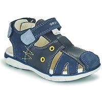 Παπούτσια Αγόρι Σανδάλια / Πέδιλα Geox SANDAL DELHI BOY Marine