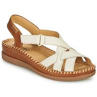 Παπούτσια Γυναίκα Σανδάλια / Πέδιλα Pikolinos CADAQUES W8K Άσπρο / Brown