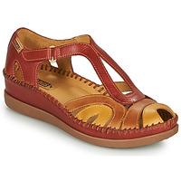 Παπούτσια Γυναίκα Σανδάλια / Πέδιλα Pikolinos CADAQUES W8K Red / Beige
