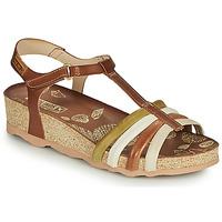 Παπούτσια Γυναίκα Σανδάλια / Πέδιλα Pikolinos MAHON W9E Brown / Άσπρο