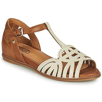 Παπούτσια Γυναίκα Σανδάλια / Πέδιλα Pikolinos TALAVERA W3D Άσπρο / Brown