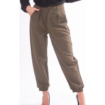 Υφασμάτινα Γυναίκα Παντελόνια Chino/Carrot Fracomina F320WP7001W05201 Αχρωμος