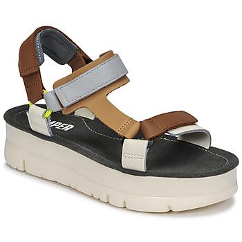 Παπούτσια Γυναίκα Σανδάλια / Πέδιλα Camper ORUGA UP Brown / Grey