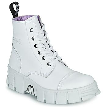 Παπούτσια Μπότες New Rock M-WALL005-C1 Άσπρο