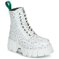 Παπούτσια Μπότες New Rock M-MILI083C-V9 Άσπρο
