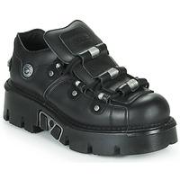 Παπούτσια Derby New Rock M-233-C3 Black