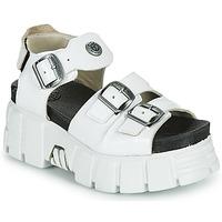 Παπούτσια Γυναίκα Σανδάλια / Πέδιλα New Rock M-BIOS101-C3 Άσπρο