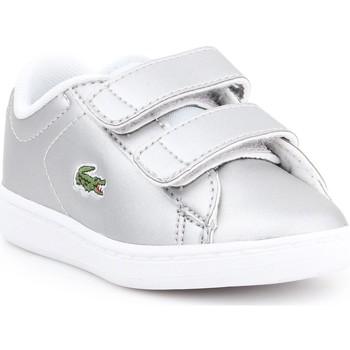 Παπούτσια Παιδί Χαμηλά Sneakers Lacoste Carnaby EVO 317 6 SPI 7-34SPI0006334 silver