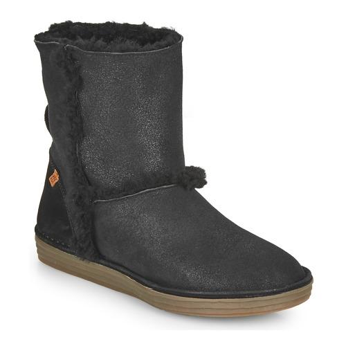 Παπούτσια Γυναίκα Μπότες για την πόλη El Naturalista LUX Black