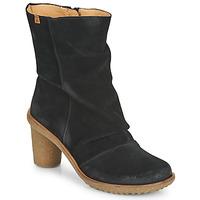 Παπούτσια Γυναίκα Μποτίνια El Naturalista LUX Black