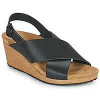 Παπούτσια Γυναίκα Σανδάλια / Πέδιλα Papillio SAMIRA RING BUCKLE Black