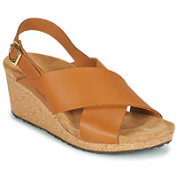 Παπούτσια Γυναίκα Σανδάλια / Πέδιλα Papillio SAMIRA RING BUCKLE Brown
