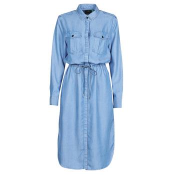 Υφασμάτινα Γυναίκα Μακριά Φορέματα G-Star Raw Rovic maxi shirt dress ls  lt / Aged