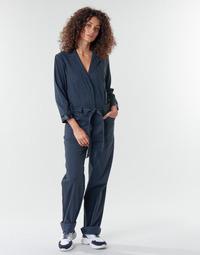 Υφασμάτινα Γυναίκα Ολόσωμες φόρμες / σαλοπέτες G-Star Raw Workwear pj jumpsuit 34 slv wmn Mazarine / Mπλε