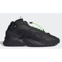 Παπούτσια Ψηλά Sneakers adidas Originals Streetball Core Black/Core Black-Solar Green