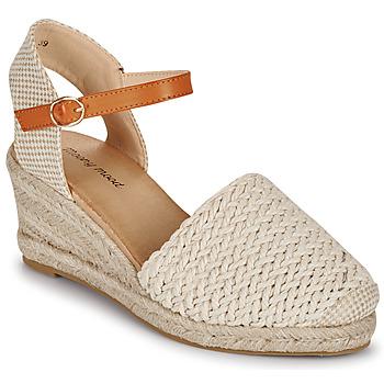 Παπούτσια Γυναίκα Σανδάλια / Πέδιλα Moony Mood OCUTE Beige