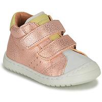 Παπούτσια Κορίτσι Χαμηλά Sneakers Bisgaard TATE Ροζ / Gold