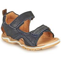 Παπούτσια Αγόρι Σπορ σανδάλια Bisgaard CASPAR Marine