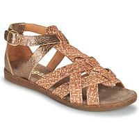 Παπούτσια Κορίτσι Σανδάλια / Πέδιλα Bisgaard CELINE Gold