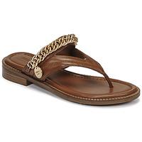 Παπούτσια Γυναίκα Σανδάλια / Πέδιλα Bronx NEW THRILL Brown / Gold