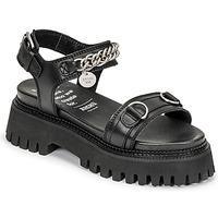 Παπούτσια Γυναίκα Σανδάλια / Πέδιλα Bronx GROOVY SANDAL Black