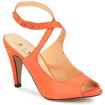 Παπούτσια Γυναίκα Σανδάλια / Πέδιλα D.Co Copenhagen MARISSA Orange