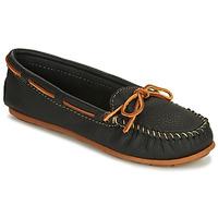 Παπούτσια Γυναίκα Μοκασσίνια Minnetonka BOAT MOC Black