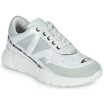 Παπούτσια Γυναίκα Χαμηλά Sneakers Love Moschino JA15323G1C Άσπρο