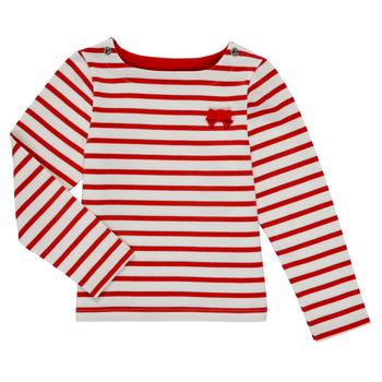 Υφασμάτινα Κορίτσι Μπλουζάκια με μακριά μανίκια Petit Bateau MAHALIA Multicolour