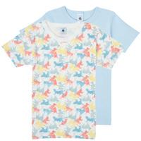 Υφασμάτινα Αγόρι T-shirt με κοντά μανίκια Petit Bateau MANUR Multicolour