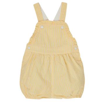 Υφασμάτινα Κορίτσι Ολόσωμες φόρμες / σαλοπέτες Petit Bateau MERINE Yellow