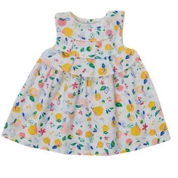 Υφασμάτινα Κορίτσι Κοντά Φορέματα Petit Bateau MELIANA Multicolour